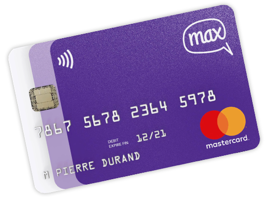 mastercard gratuite max