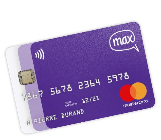 Carte Bancaire Gratuite Zero.La Carte Max Une Carte Bancaire Gratuite Qui Reunit